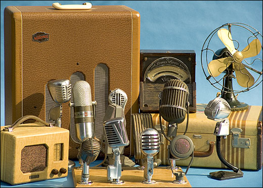Props and Vintage Microphones